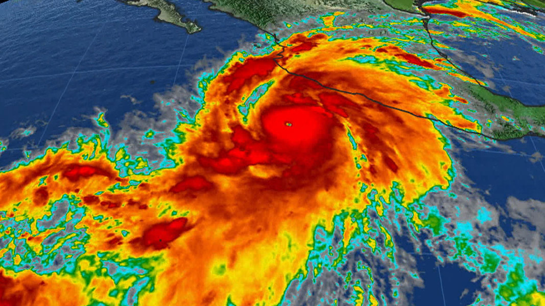 Category 5 Tornado : Hurricane patricia strongest storm ever measured to hit