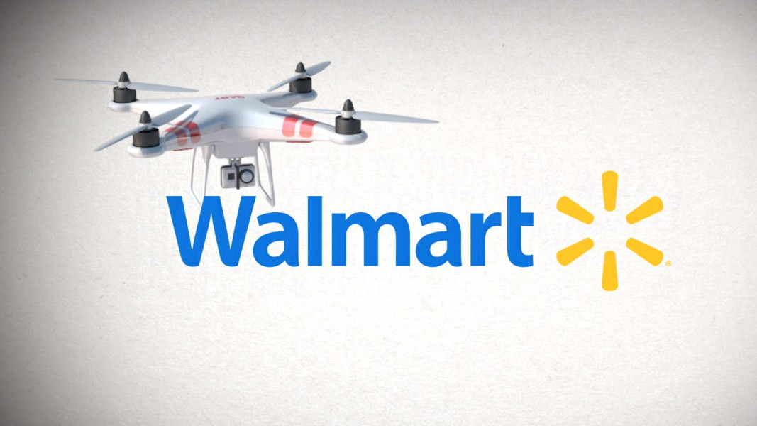 Wal Mart Seeks To Test Drones For Home Delivery Pickup