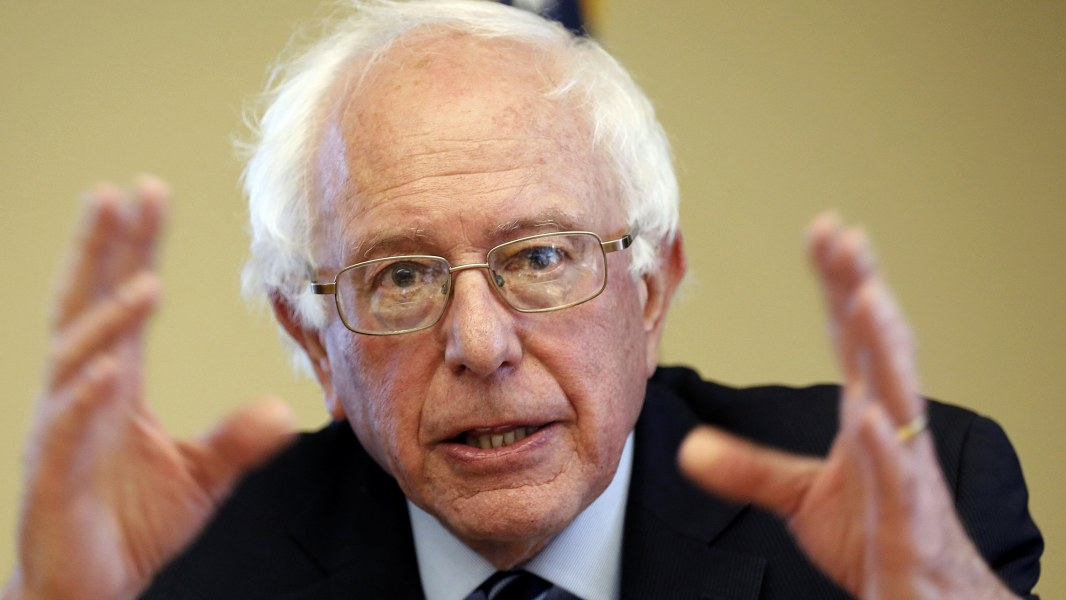 an analysis of the campaign apparatus of senator bernie sanders Usa news analysis liberalism's  a case study of the american senator bernie sanders and the ones to follow  he has accepted campaign money from defense .