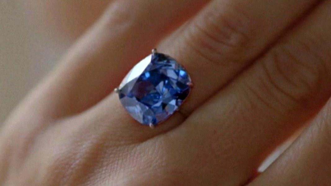Rare Blue Diamond Sells For Record 48 5 Million At