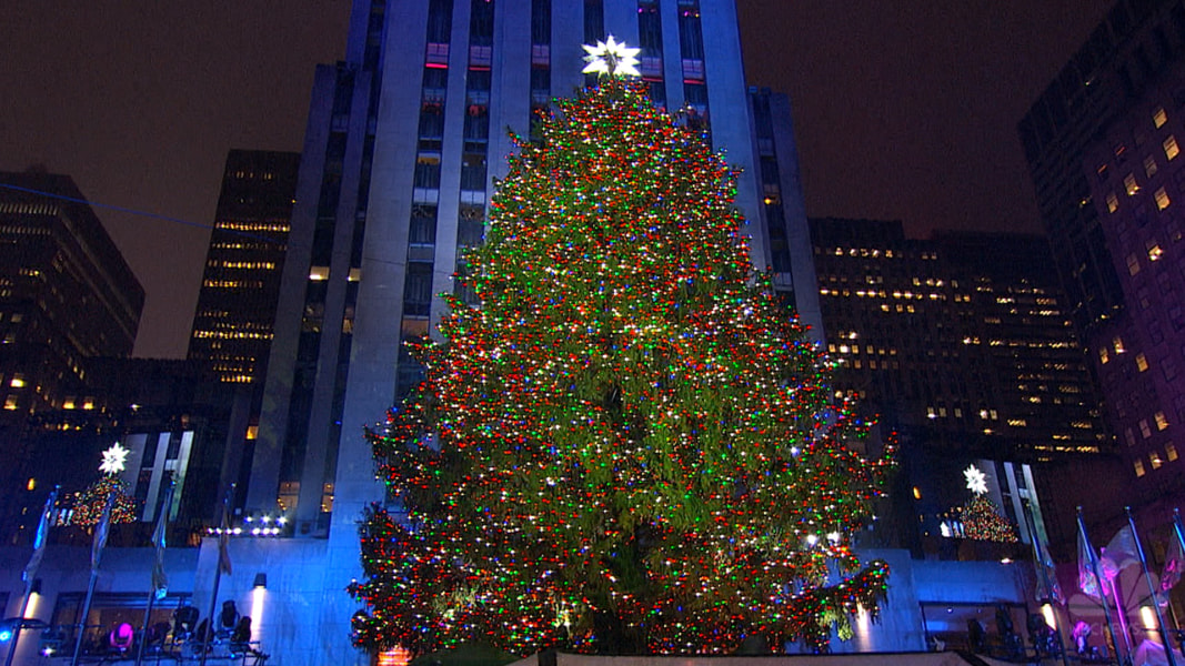 ICYMI: Rockefeller Center Christmas Tree Illuminated - NBC News