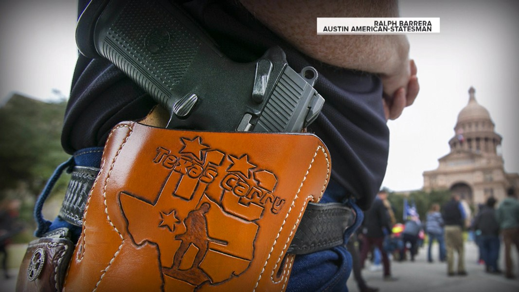 what is the law in texas on guns