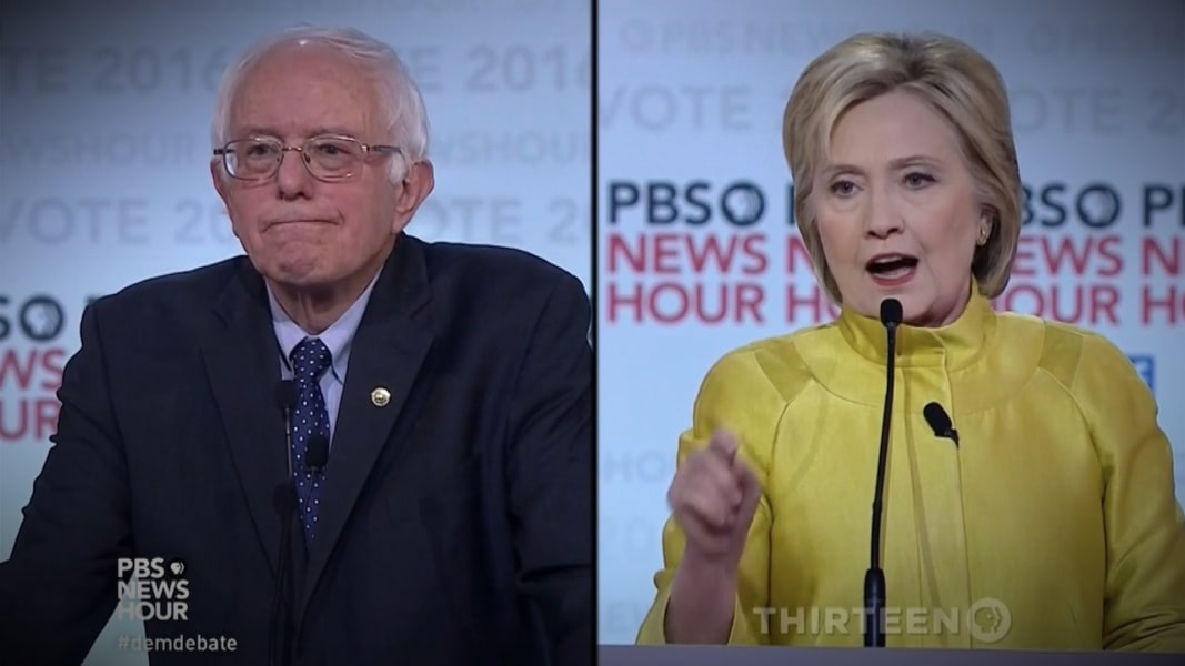 big moments from the hillary bernie debate in 3 minutes nbc news