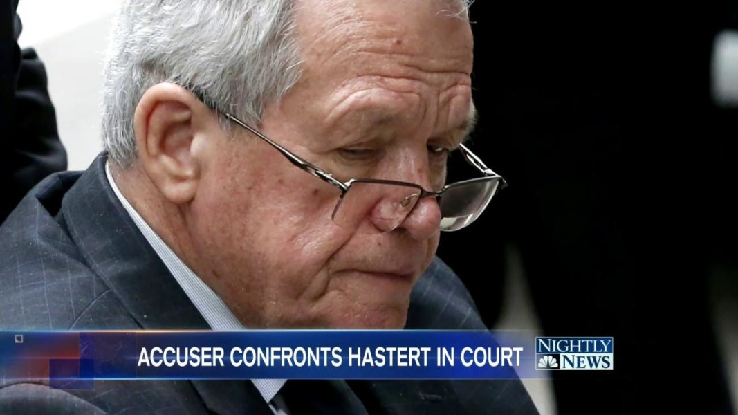 Dennis Hastert out of federal prison