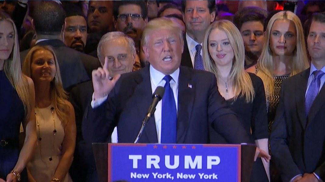 Facebook Twitter Embed Donald Trump Wins Gop Majority In New York