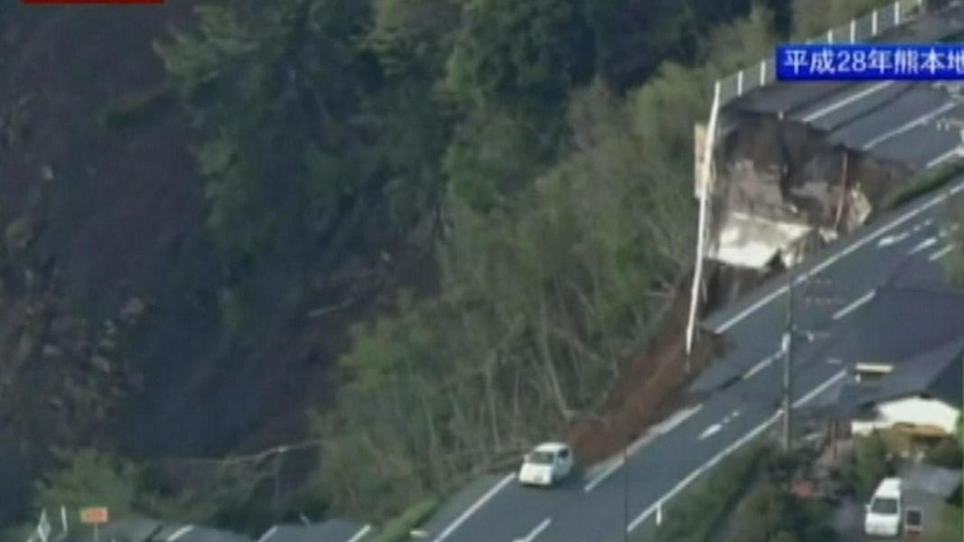 Aerial Video Shows Extent of Japan Earthquake Damage