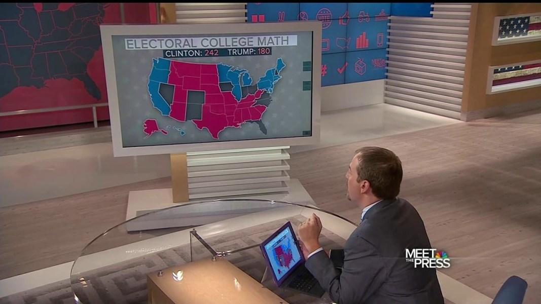Presidential Election Results Donald J Trump Wins Election - Trump vs clinton us map