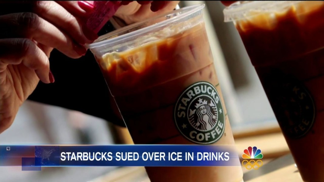 Starbucks Being Sued For 5 Million Over Its Iced Coffee