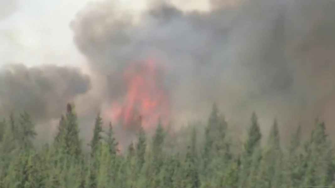 Monster Canada Wildfire Continues to Grow, Could Reach ...
