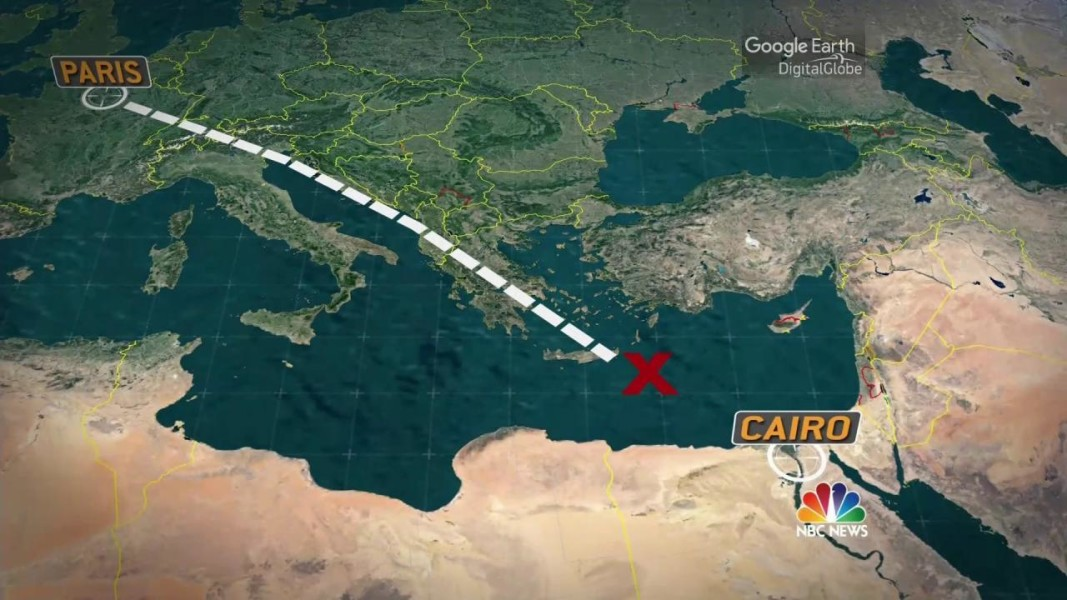 U S Intel Strong Indications Of Explosion On Egyptair Flight