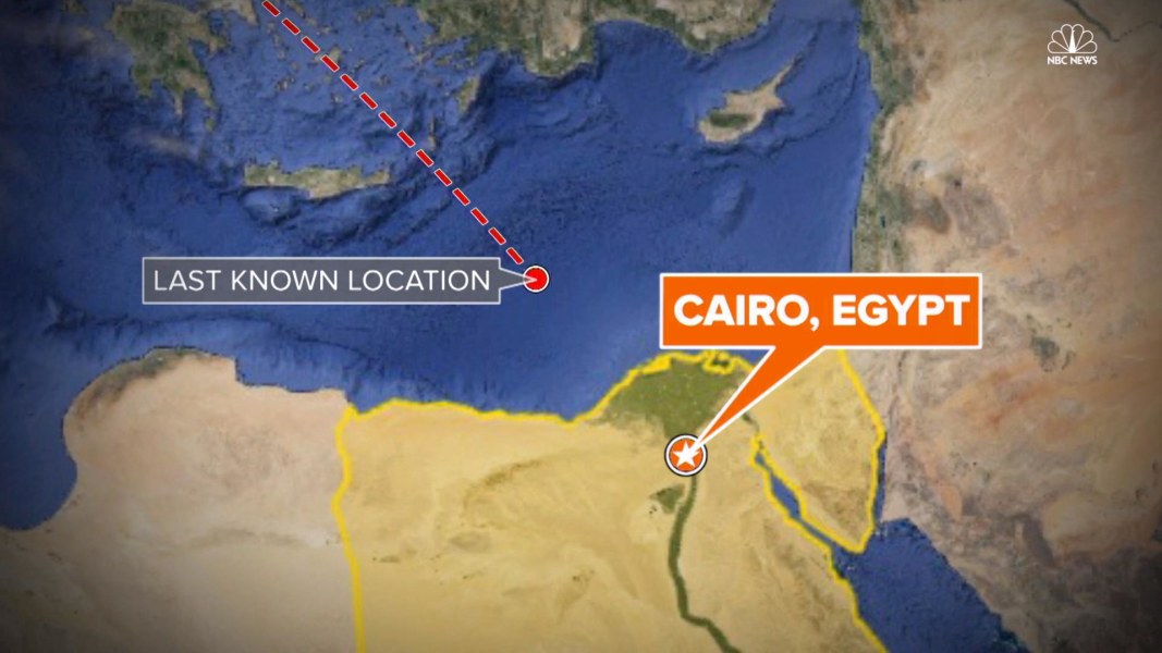 Timeline of EgyptAir Flight MS804 - NBC News