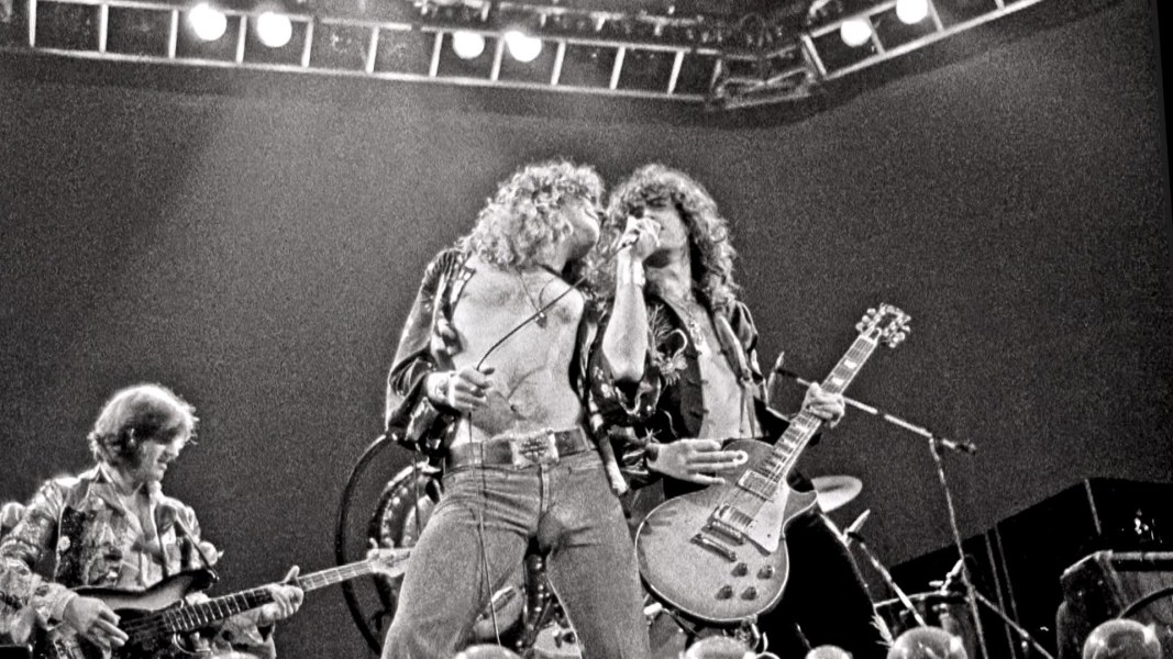 an introduction to the career of jimmy page a guitarist of led zeppelin Los angeles -- led zeppelin guitarist jimmy page demonstrated a deft  lifted  a passage for the introduction to the 1971 hit stairway to heaven  he tried to  get page to discuss the taurus sheet music, which is the work.