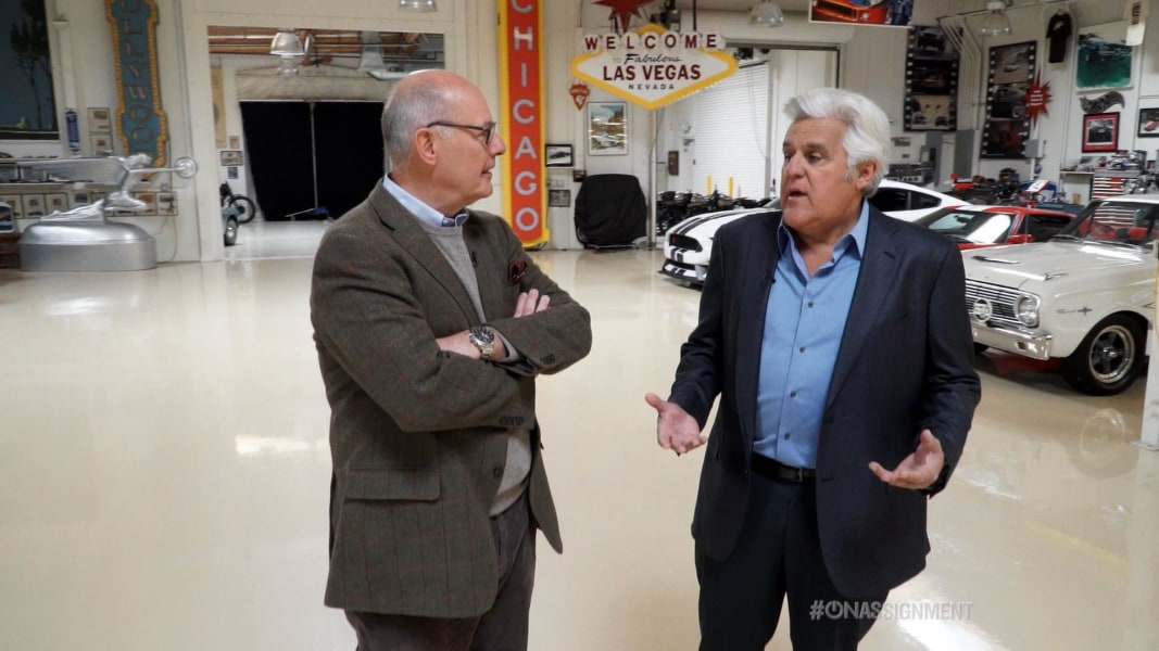 hands off jay leno on the future of cars