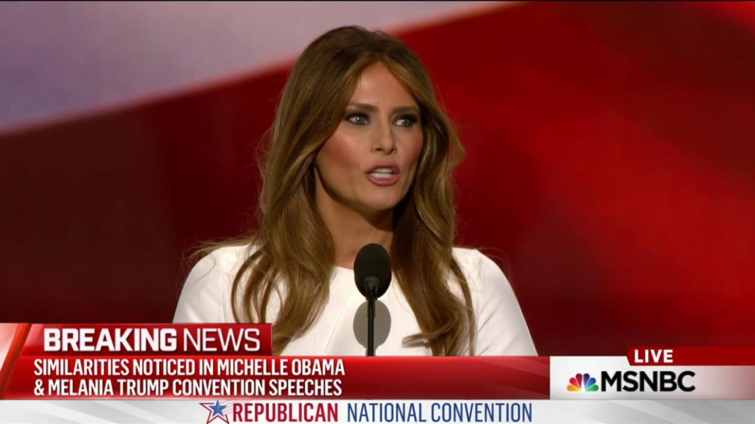 Melania Trump Republican Convention Speech Bears Striking ...
