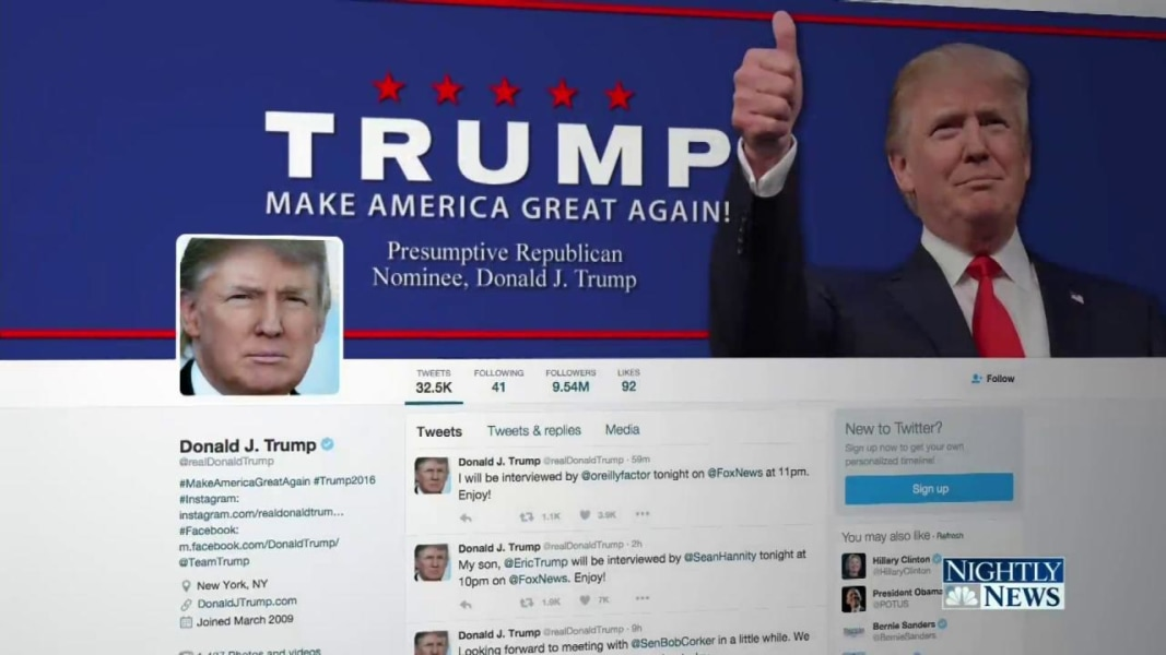 Tom Brokaw Examines Social Media As A Force In 2016 Election