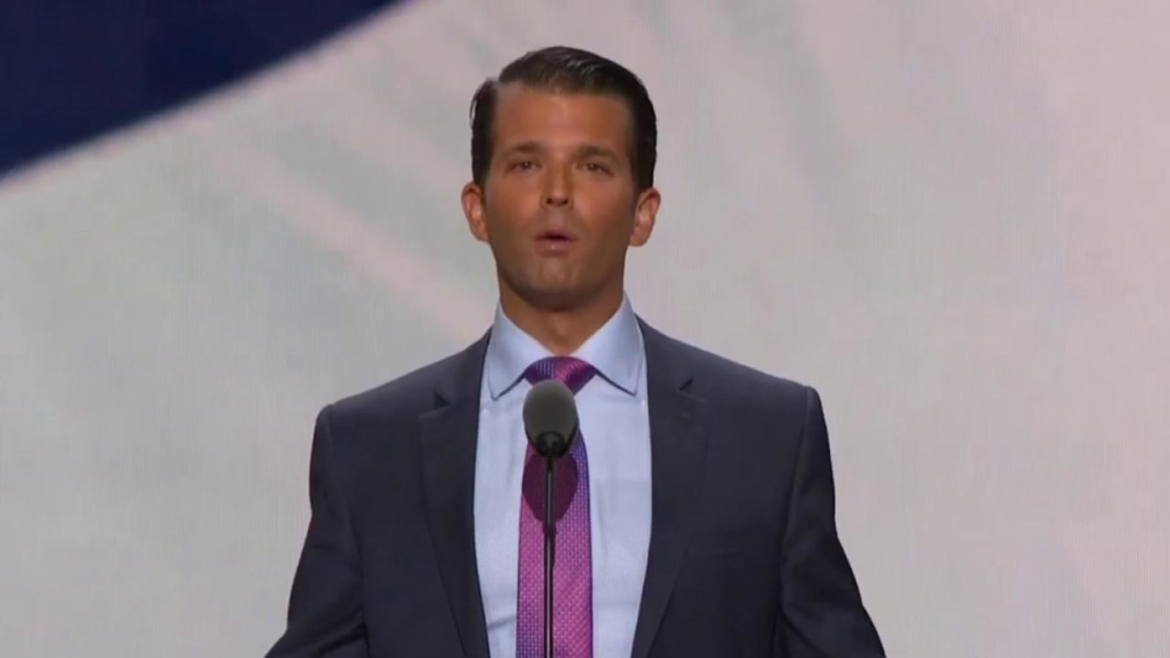 Donald Trump Jr.'s Speechwriter Defends Recycling Lines for RNC