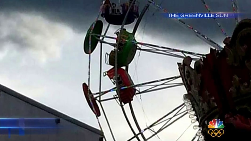 Greene County Fair Ferris Wheel Basket Flips, Injuring ...