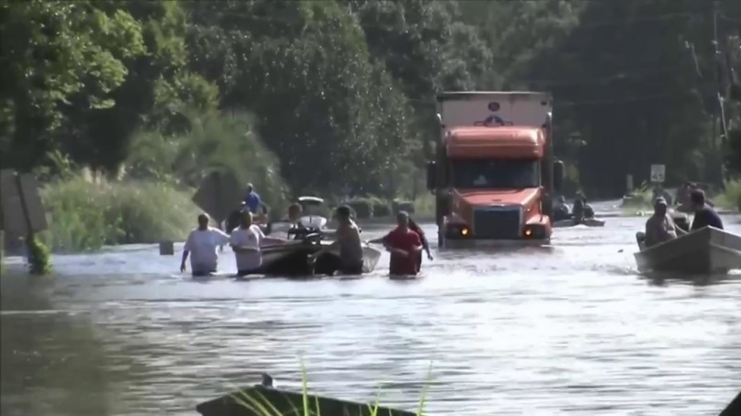 news louisiana flood worst disaster hurricane sandy