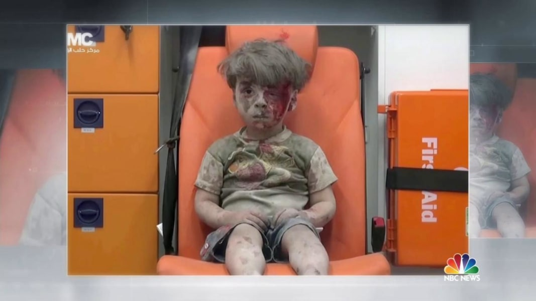 view download images  Images The Boy in the Ambulance: Omran Daqneesh Picture Shows Horror in Aleppo, Syria - NBC News