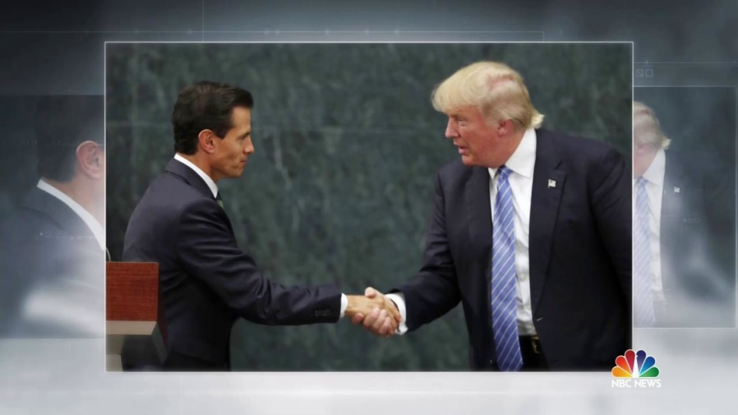 Trump meets with mexican president but dispute emerges over wall trump meets with mexican president but dispute emerges over wall m4hsunfo