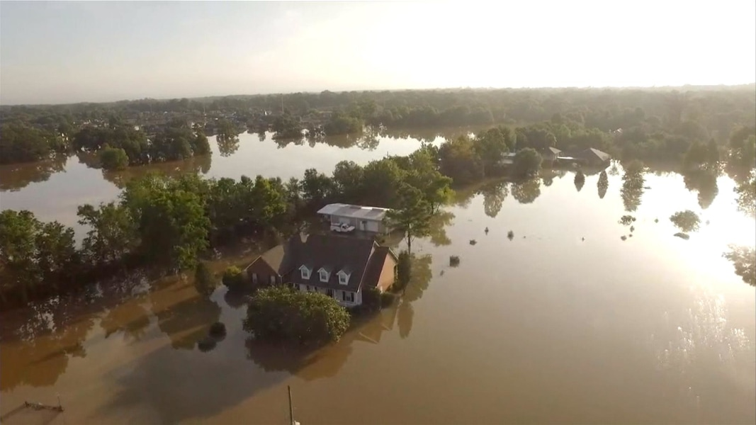 Aerial Video Shows the True Devastation of Louisiana Flooding