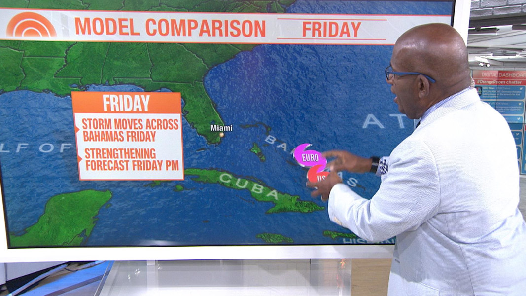 Gulf Coast Could Be Threatened By Storm Brewing In Atlantic Nbc News