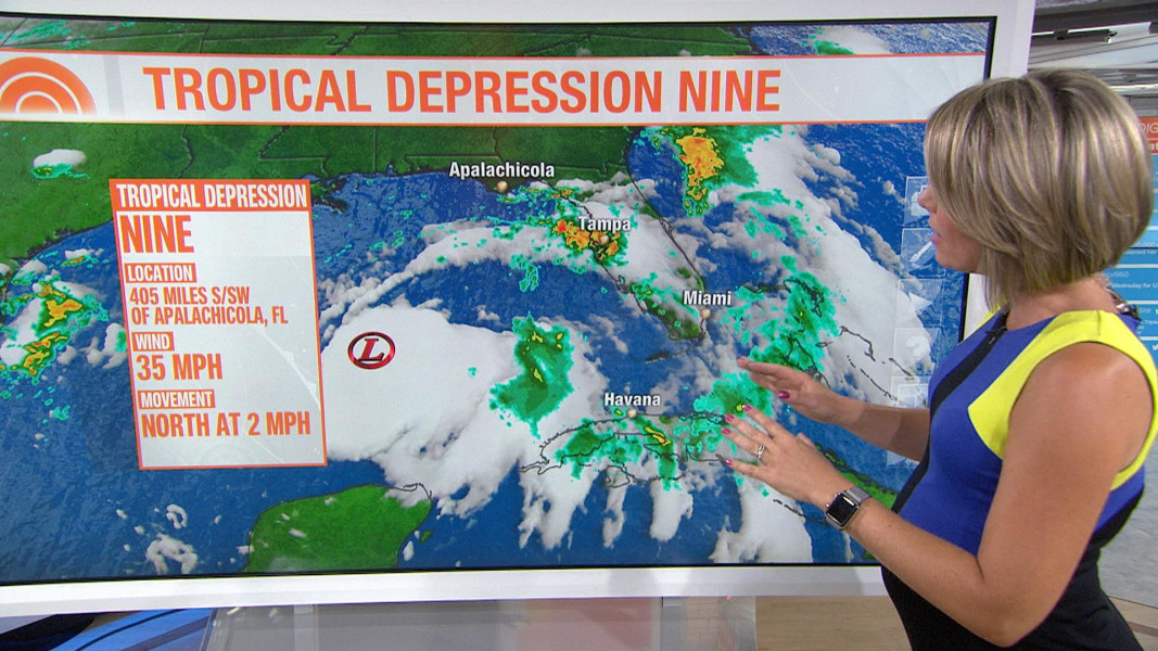 Gulf system expected to become Tropical Storm Hermine - NBC News on show me a rainbow, explain a weather map, show me a cold front, show me a dictionary, show me a hurricane, show me a elevation, show me a climate,