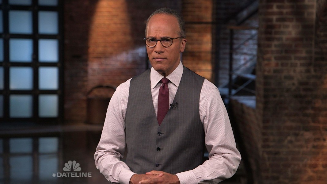 Image result for lester holt sick pictures