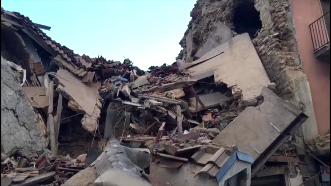 Italy Earthquake: Army Mobilized, Dozens Buried in ...