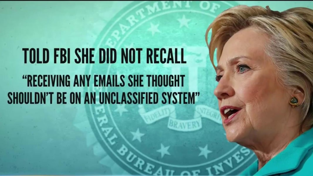 FBI Releases Notes From Interview With Hillary Clinton Over Emails ...