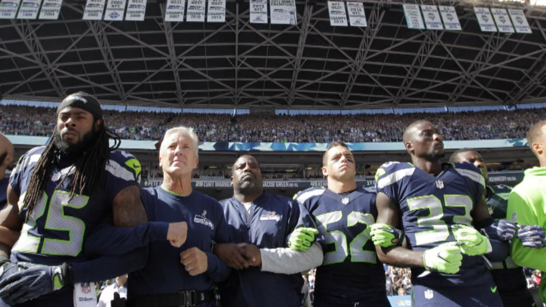 the modern societys of america and the national anthem in the nfl Dallas cowboys owner jerry jones was once again speaking out about the now jerry jones on if the nfl is being damaged by the national anthem i do not think the place to express yourself in society is as we recognize the american flag and all the people that have made this.