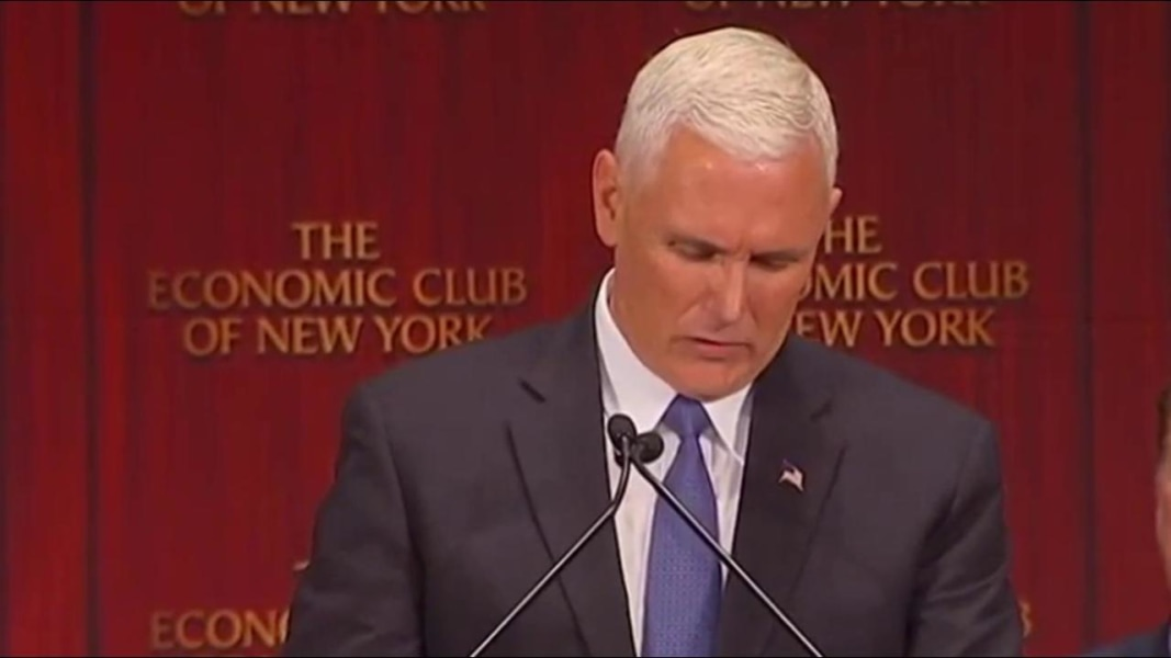 Pence Cancels Event, Says He's 'Offended' by Trump Comments