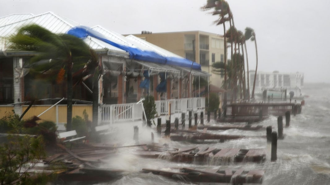 Marriott Myrtle Beach Storm Damage