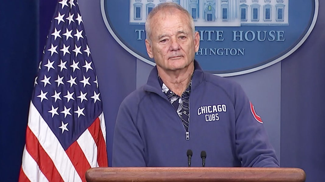 Image result for bill murray white house
