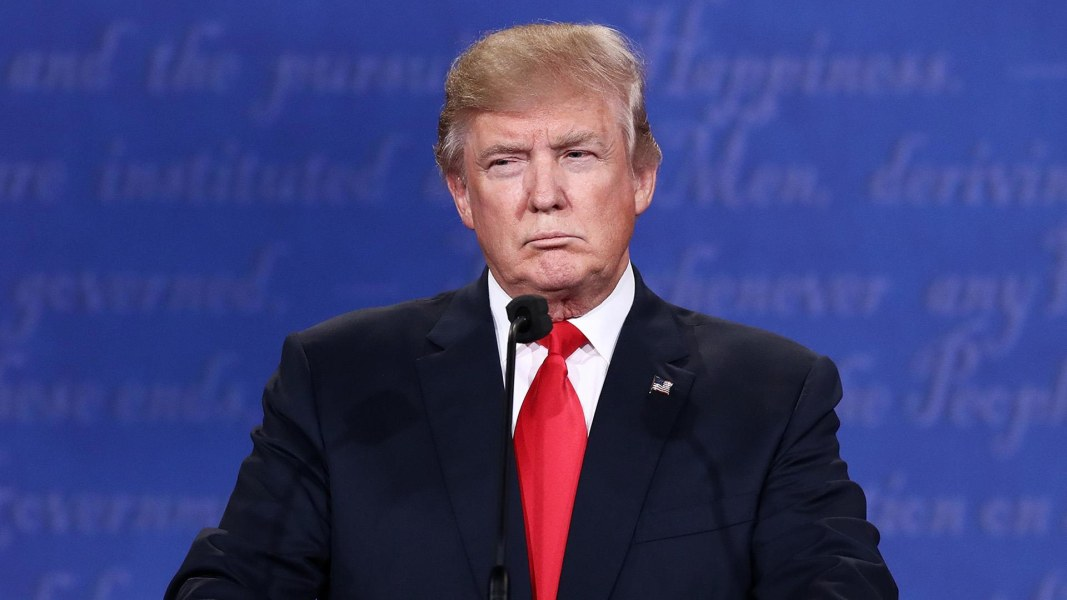 November Surprise Trump S 2016 Debate Warning Threatens To Split Gop