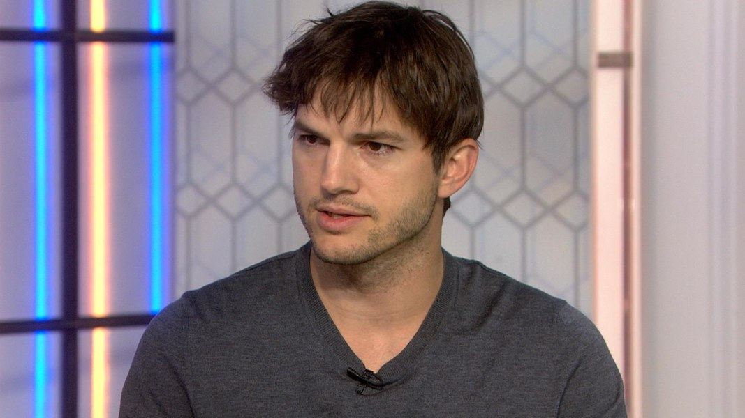 Actor Ashton Kutcher Is Trying to End Modern-Day Slavery ... Ashton Kutcher