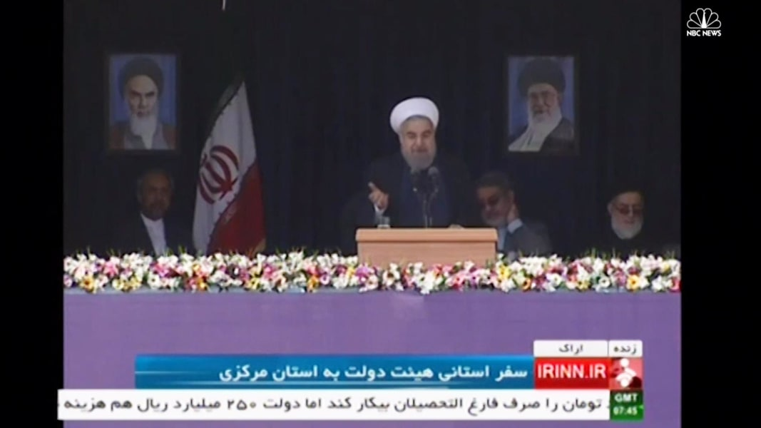 Iran S President Rouhani Calls U S Election Choice Between Bad And Worse