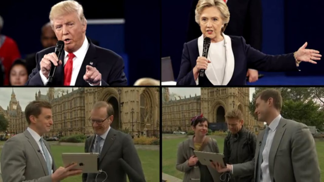 Analysis U S Presidential Election Crosses Invisible Line For Europeans