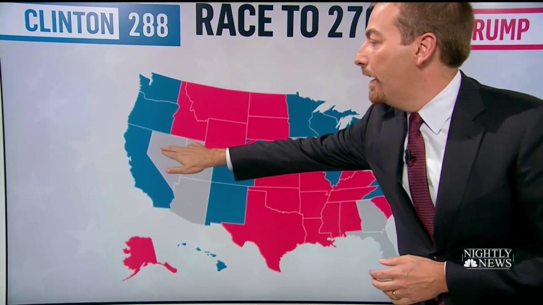 Analysis Where Does The Electoral College Map Stand NBC News - Us election nbc map
