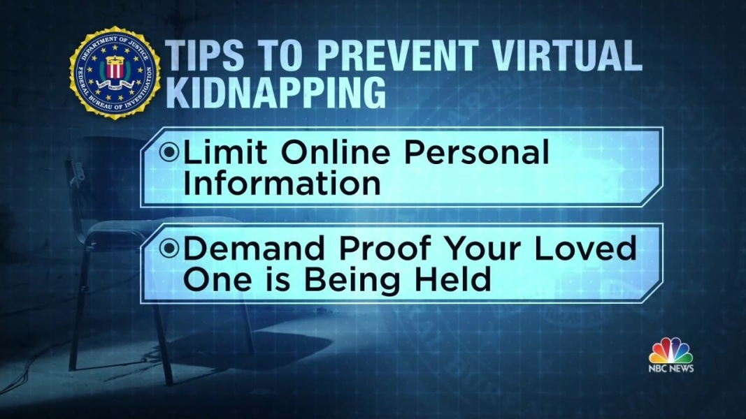 Image result for virtual kidnapping scam