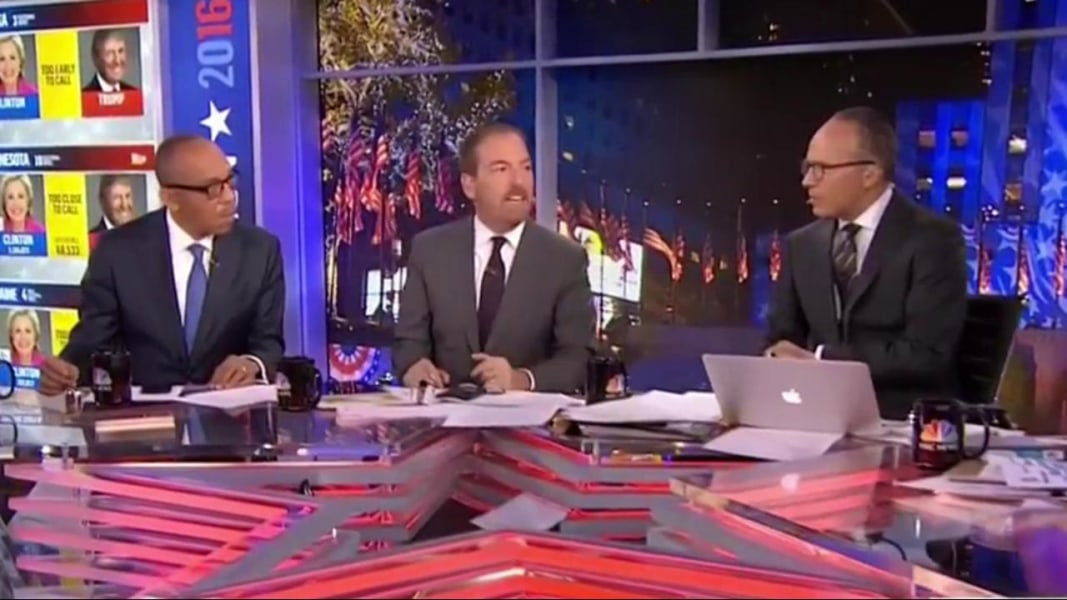 Chuck Todd Trump Blew All Of Our Predictions