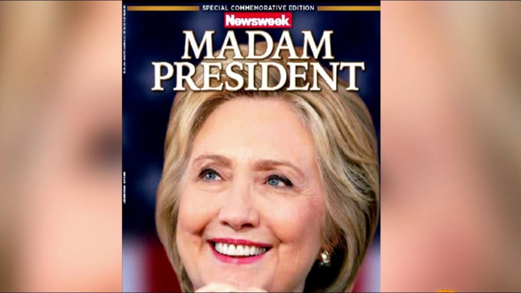 Madam President' Newsweek Copies for Sale Online — But Buyer Beware ...