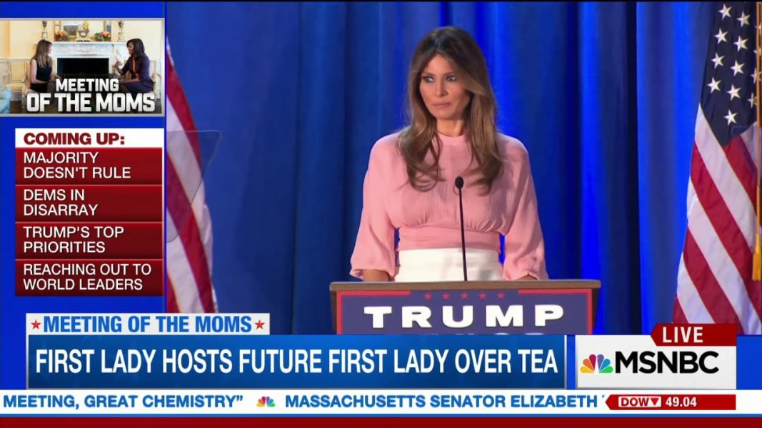 Melania Trump's Bio Now Says She 'Paused Her Studies' at College