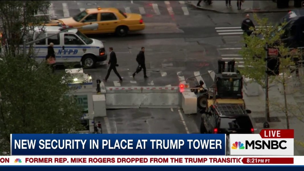 ... for Protecting Jet-Setting President-Elect Trump? Yuge! - NBC News