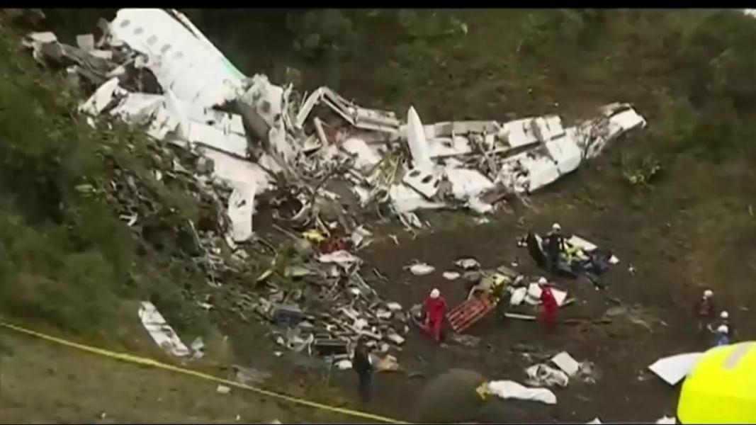Plane Carrying Brazil S Chapecoense Soccer Team Crashes In