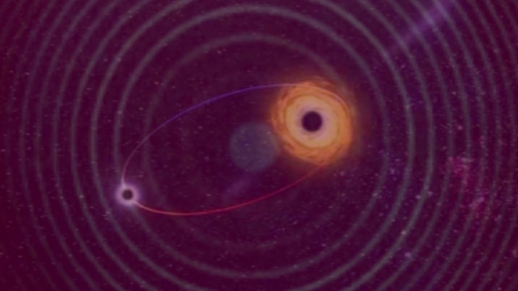 A Massive Black Hole Swallows Up A Sun-Like Star?