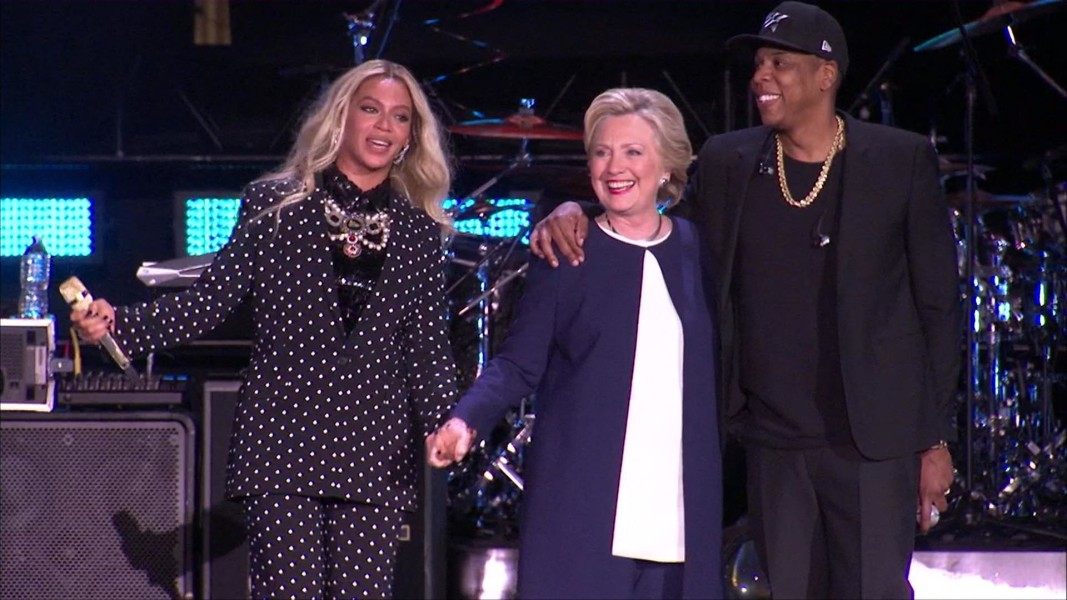 Image result for Hillary clinton and jay-z