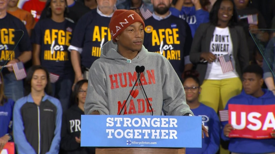 Pharrell Williams This Election Too Important To Sit Out