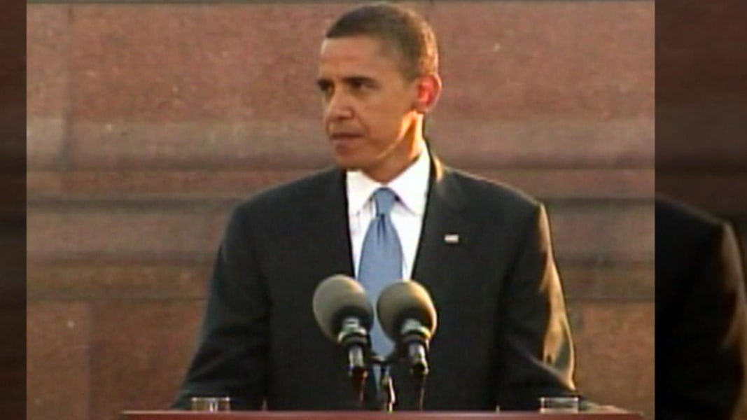 speech written by barack obama Moments after president donald trump delivered his inaugural address, now- former president barack obama broke precedent and delivered a.