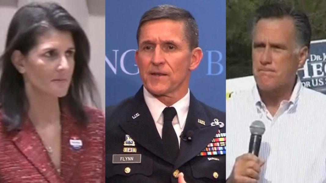 Mitt Romney, Nikki Haley Among Trump Cabinet Candidates - NBC News
